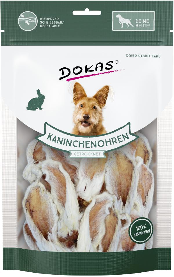 Dokas - Králičí uši se srstí krátké 100 g