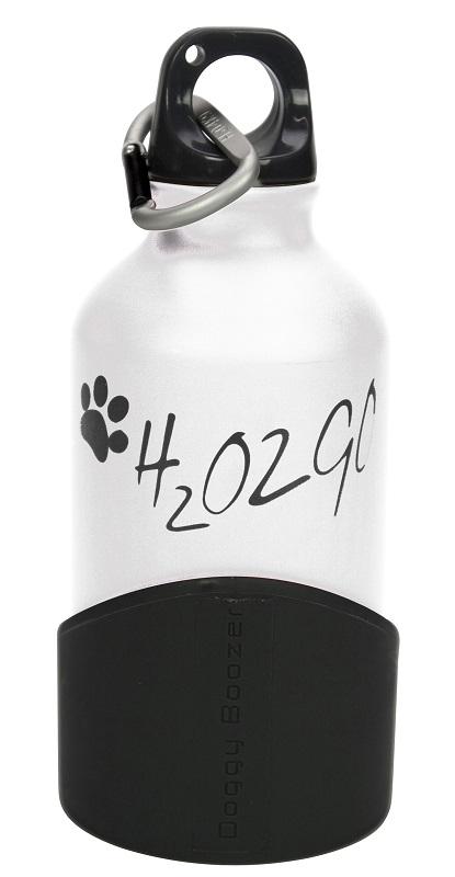 Láhev na vodu H2O2GO - 350 ml - bílá