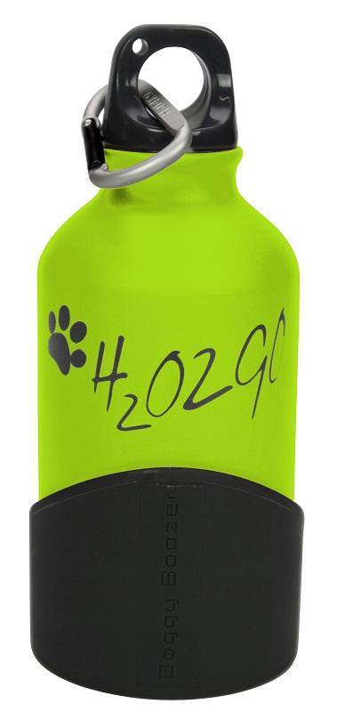 Láhev na vodu H2O2GO - 350 ml - zelená