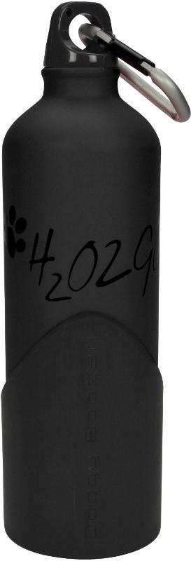 Láhev na vodu H2O2GO - 750 ml - černá