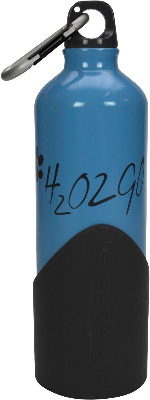 Láhev na vodu H2O2GO - 750 ml - modrá