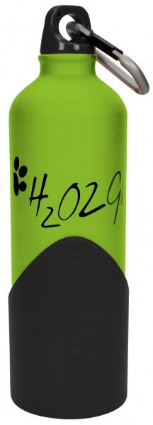 Láhev na vodu H2O2GO - 750 ml - zelená