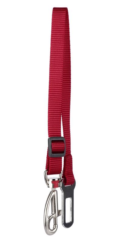 Bezpečnostní pás RD 15 mm x 34-50 cm - Červená