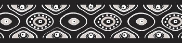 Ob. polos. RD 15 mm x 26-40 cm - Snake Eyes Black