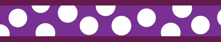 Obojek pro kočky - White Spots on Purple