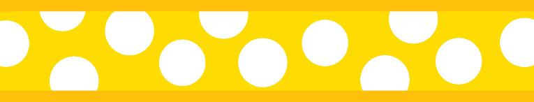 Obojek pro kočky - White Spots on Yellow