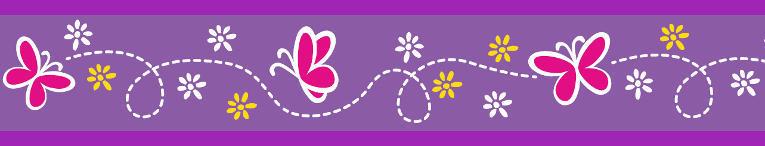 Obojek pro kočky  - Butterfly Purple