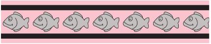 Obojek pro kočky - Fish Rfx - Světle Růžová