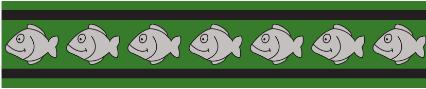 Obojek pro kočky - Fish Rfx - Zelená