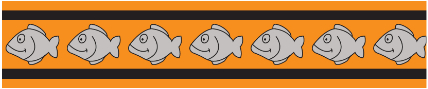 Obojek pro kočky - Fish Rfx - Oranžová