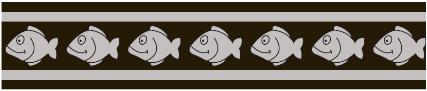 Obojek pro kočky - Fish Rfx - Černá