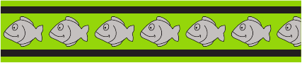 Obojek pro kočky - Fish Rfx - Limetková