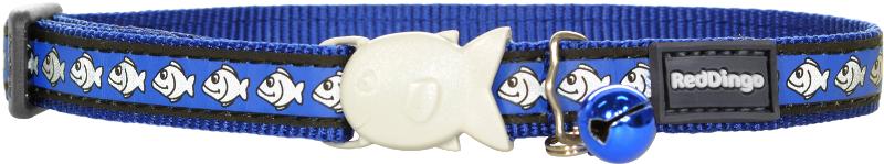 Obojek pro kočky - Fish Rfx - Tmavě modrá