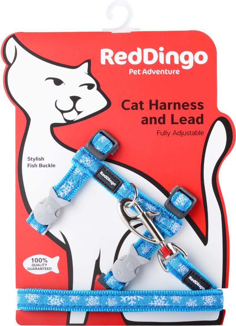 Postroj RD s vodítkem - kočka- Snowflake