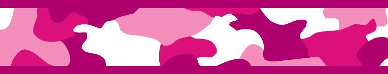 Vodítko RD přep. 12 mm x 2 m - Camouflage Hot Pink
