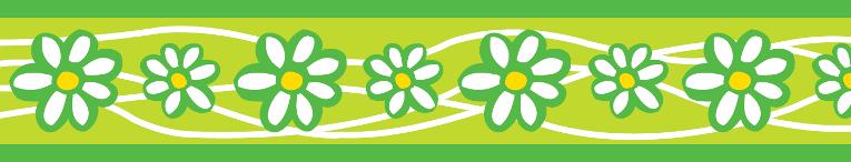 Vodítko RD přep. 12 mm x 2 m - Daisy Chain Lime