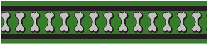 Vodítko RD přep. 12 mm x 2 m- Bones Rfx - Zelená