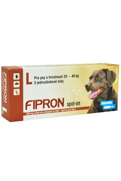 Fipron 268mg Spot-On Dog L sol 3x2,68ml
