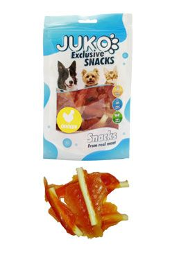 Juko excl. Smarty Snack SOFT MINI Chicken Jerky 70g