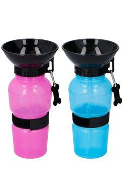 Miska/lahev cestovní na vodu pro psy 500ml