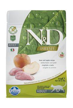 N&D PRIME CAT Adult Boar & Apple 300g