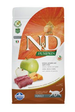 N&D GF Pumpkin CAT Venison & Apple 5kg