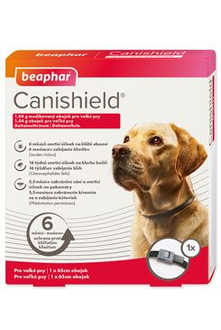 Beaphar Obojek antipar. pes Canishield 65cm 1ks