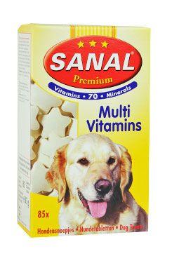 Sanal pes Premium multivitamíny a aminokyseliny 85tbl