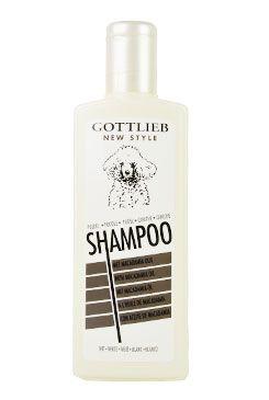 Gottlieb Pudl šampon s makadamovým olejem Bílý 300ml