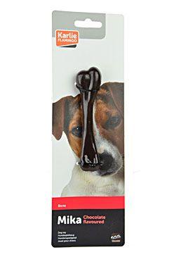 Hračka pes Kost dentální Čokoládová 13cm KAR