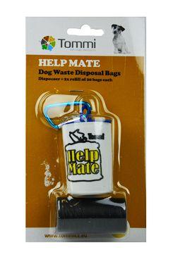 Sáčky na psí exkrementy zásobník Help Mate+2role