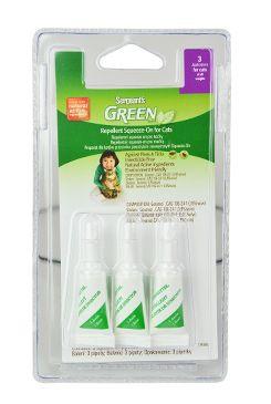 Sergeanťs Green spot on pro kočky 3x1ml