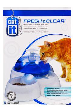 Fontána CATIT plast Fresh&Clean velká 3l