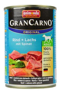 Animonda GRANCARNO konz. ADULT losos/špenát 400g