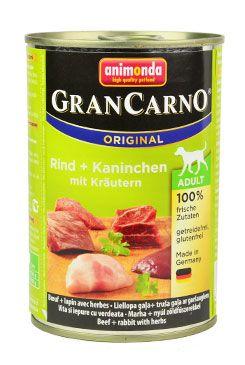 Animonda GRANCARNO konz. ADULT králík/bylinky 400g