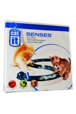 Hračka kočka Koulodráha s míčkem CATIT plast 1ks