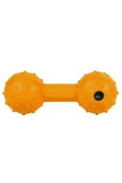 Hračka pes Činka guma s rolničkou 12cm TR 1ks