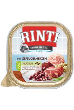 Rinti Dog Kennerfl. vanička drůbeží srdíčka+nudle 300g