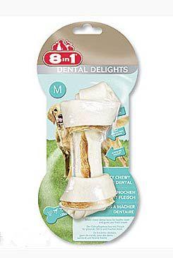 Kost žvýkací s minerály Dental Delights M 1ks