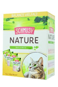 Schmusy Cat Nature Menu kapsa 4x3x100g multipack