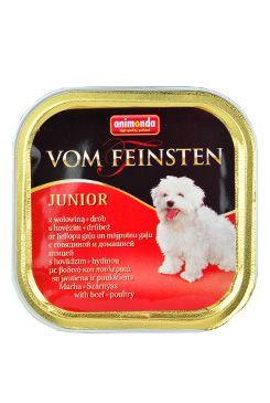 Animonda paštika Junior hovězí/drůbeží pes 150g