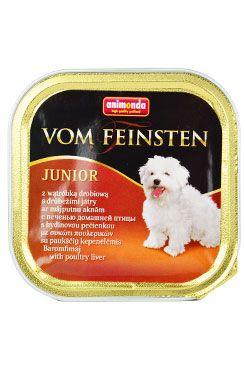 Animonda paštika Junior drůbeží játra pes 150g