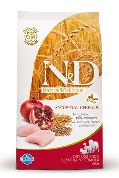 N&D LG DOG Adult Maxi Chicken & Pomegranat 12kg