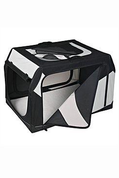Přepravka Vario nylon L 99x67x71/61cm černo-šedá 1ks