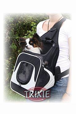 Batoh cestovní k nošení psa nylon Savina 30x26x33cm TR