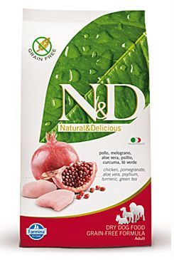 N&D GF DOG Adult Maxi Chicken&Pomegranate 12kg