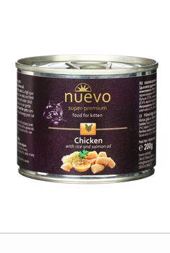 Nuevo kotě kuře konz. 200g