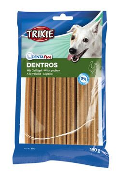 Dentafun DENTROS Light kuřecí tyčky pes 180g TR