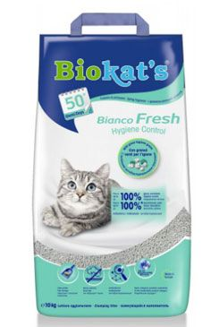 Podestýlka Biokat's Bianco Fresh Control 10kg