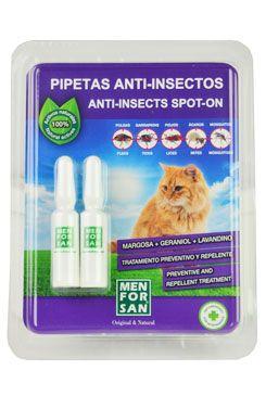 Menforsan Spot on pipety pro kočky antipar. 2x1,5ml